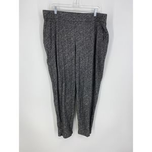Eileen Fisher XL Ankle Casual Pants Wool Blend